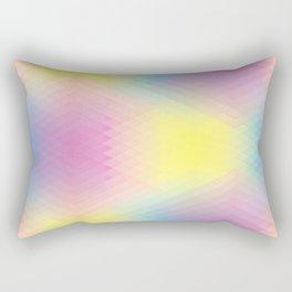 CMYK blurr Rectangular Pillow