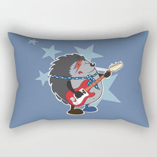 Ziggy plays guitar Rectangular Pillow