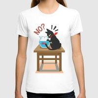 goldfish T-shirts featuring Goldfish by BATKEI