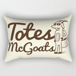 Totes McGoats Rectangular Pillow