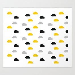 Up on cloud 9 Art Print