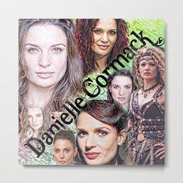 Danielle Cormack Metal Print