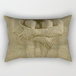 The Artist Rectangular Pillow