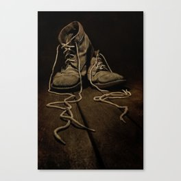 Old Brown Shoes Canvas Print