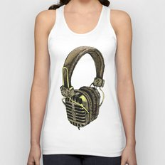 HEAD PHONE Unisex Tank Top