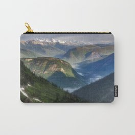 The Mountains of Glacier National Park Carry-All Pouch