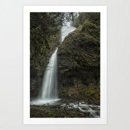 Upper Latourell Falls, No. 1 Art Print