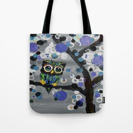 ::Gemmy Owl Weather's the Storm:: Tote Bag