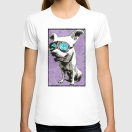 Dog with goggles T-shirt