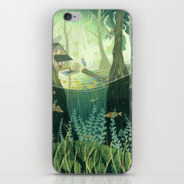 Swamp iPhone Skin