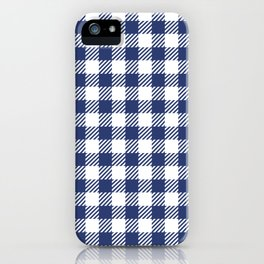 Blue Vichy iPhone Case