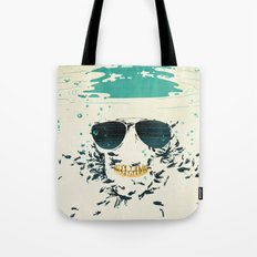 Sleeping with the fishes Tote Bag