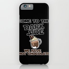 We have hot chocolate iPhone Case