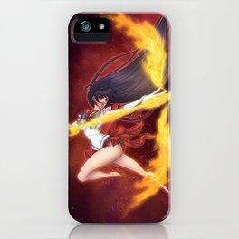 Mars Flame Sniper iPhone Case