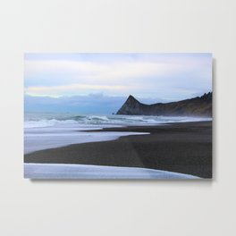 Watching the tide come in Humboldt California Metal Print