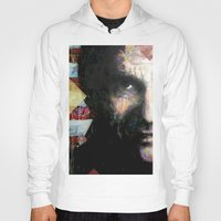 johnny cash Hoodies featuring Johnny Cash by Glen Ronald