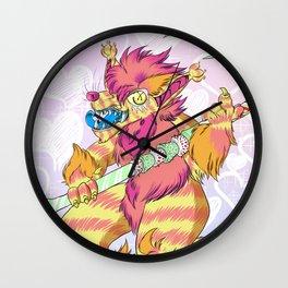 Pecans the Sugar Devil Wall Clock