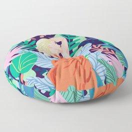 Soulful Garden Floor Pillow