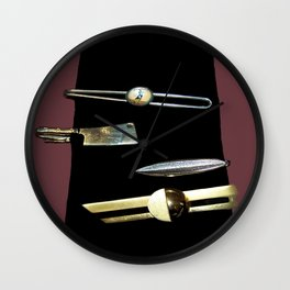 Black Tie Wall Clock