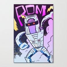ROM! Canvas Print