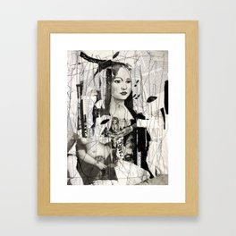 to be a woman, to be a girl Framed Art Print