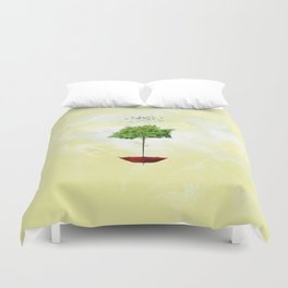 Arboreal umbrella Duvet Cover