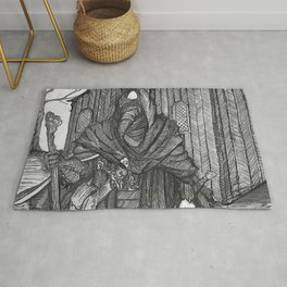 the Plague Doctor Rug