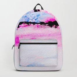 watercolor horizon Backpack
