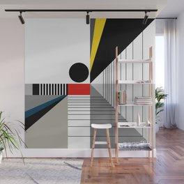 BLACK POINT Wall Mural