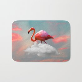 My Home up to the Clouds Bath Mat