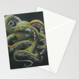 Tangle of Tenticles Stationery Cards