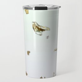 Gold Flakes Travel Mug