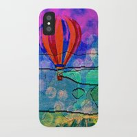 hot air balloons iPhone & iPod Cases featuring Hot Air Balloons #6 by Music of the Heart