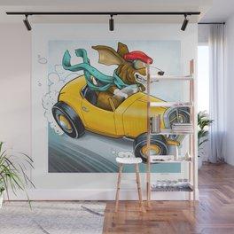 Go Dog Go Wall Mural