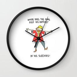 The King's Men Wall Clock
