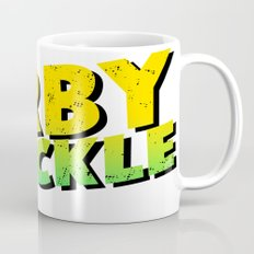 Kirby Krackle - Yellow/Green Logo Coffee Mug