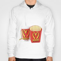 moschino Hoodies featuring HAPPY MEAL :) by Claudio Velázquez