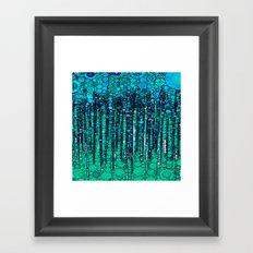 :: Blue Ocean Floor :: Framed Art Print