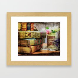 Key To The Riddle Framed Art Print