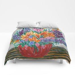 Flowers That Never Wilt Comforters