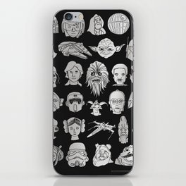 The force is strong iPhone Skin