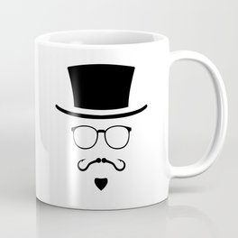 Hipster Mustache Fisherman Coffee Mug