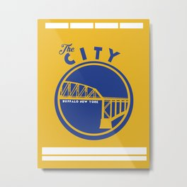 BUFF CITY Metal Print