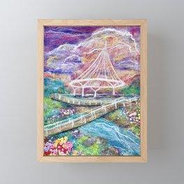 Blooming at Cancer Survivors Park Framed Mini Art Print