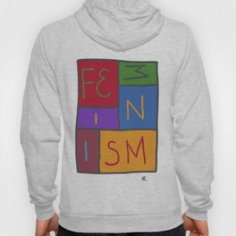 Intersectional Feminism In Colour Hoody