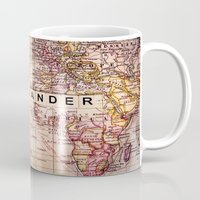 not all who wander are lost Mugs featuring wander by Sylvia Cook Photography