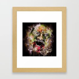 walk.wander. Framed Art Print