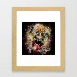 walk.wander. Framed Art Print