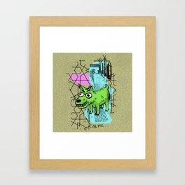 Perrete serie 1 Framed Art Print