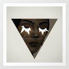 Quantum entanglement.  Art Print